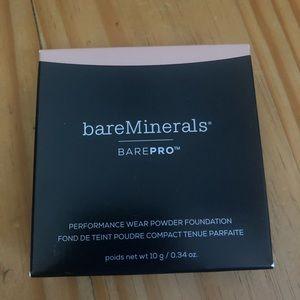 BareMinerals barepro powder foundation